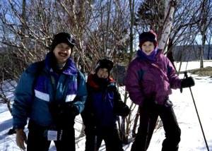 2316 25 Julia David Victor ski