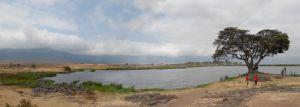 Panorama Ngorongora