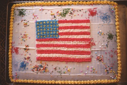 1889 26 Flag cake