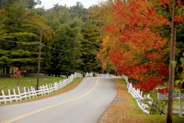Fall road maine